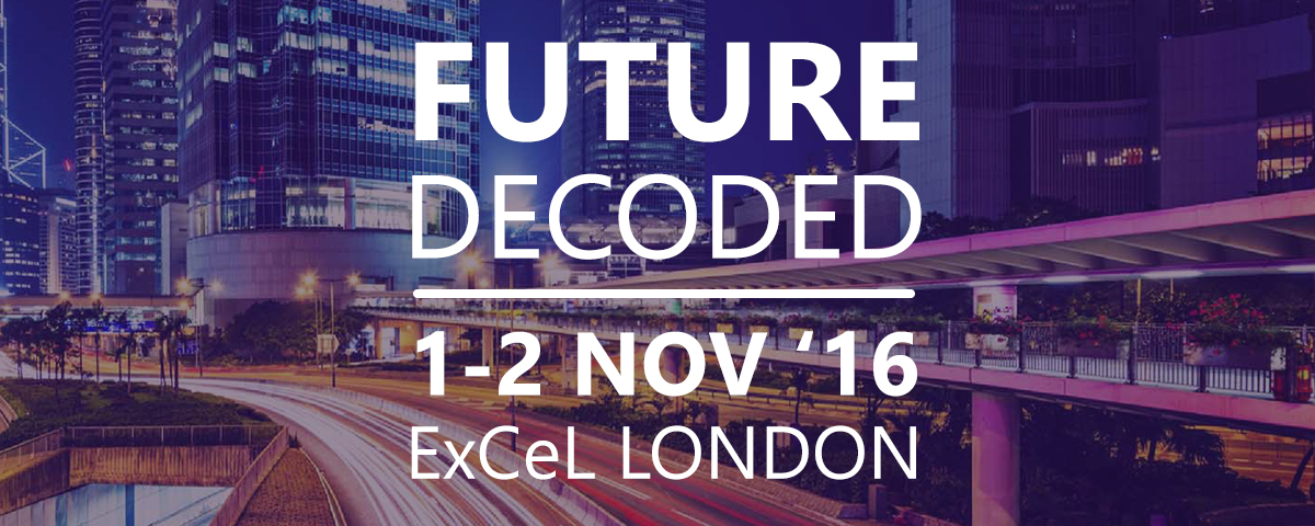 Meet Mandarine at Future Decoded 2016 | Mandarine Academy