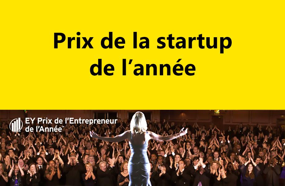 startup de l'annee