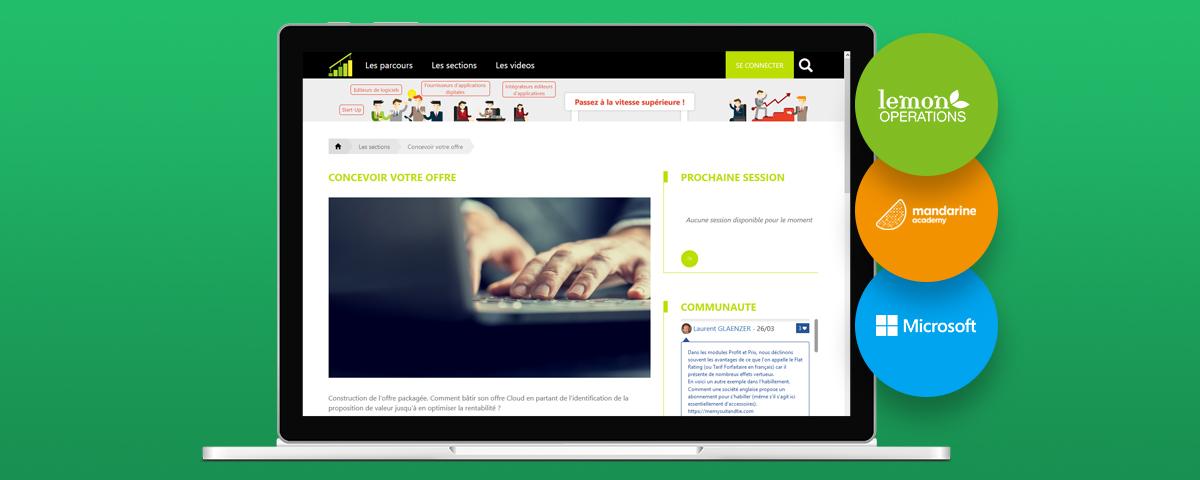 Le MOOC StepApp dédié aux ISV | Mandarine Academy