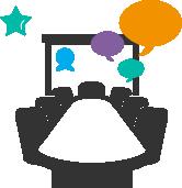 Intégration de sessions intra entreprises en webconférence