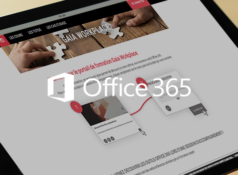 L'accompagnement au changement Office 365 d'un groupe d'information et de services