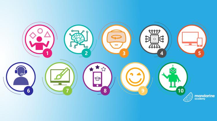 Le marché de l'apprentissage digitale connaît une belle croissance. Découvrons les 10 tendances qui rendre l'apprentissage plus efficace.