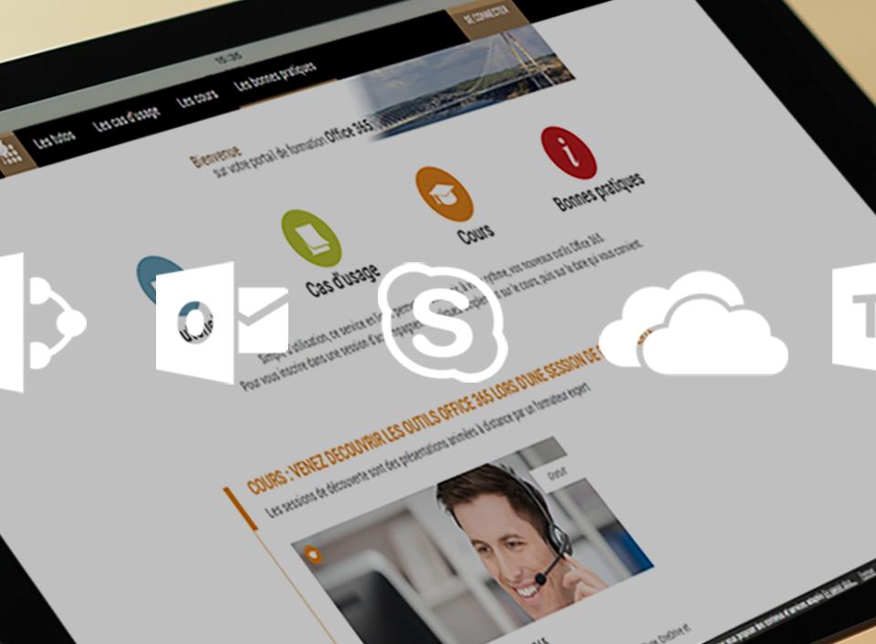 L'accompagnement d'un centre scientifique du bâtiment sur le déploiement des solutions Office 365
