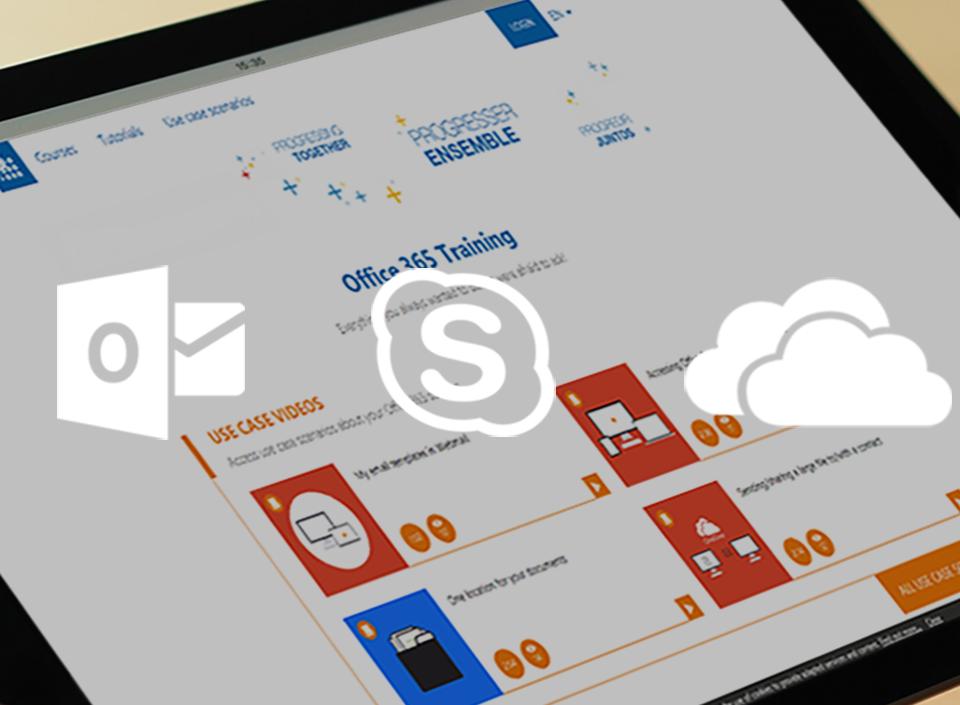 L'accompagnement des solutions Outlook, Skype et OneDrive d'un grand groupe sucrier