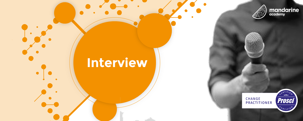 Interview | Nicolas, PROSCI certified at Mandarine Academy