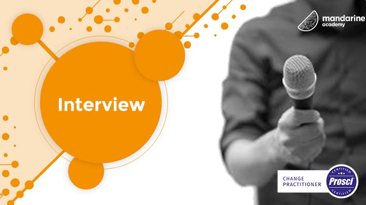 Interview | Nicolas, PROSCI certified at Mandarine Academy