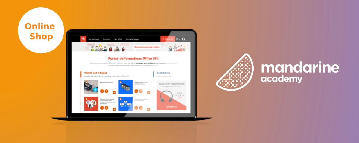 Discover Mandarine Academy's online shop | Mandarine Academy