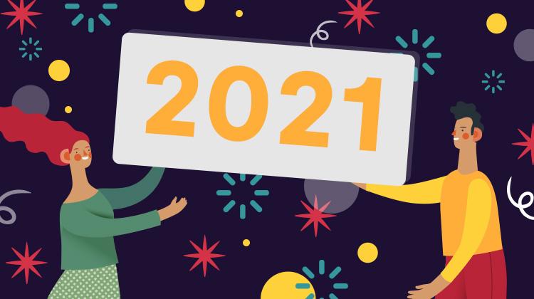 Notre équipe vous souhaite une bonne année 2021